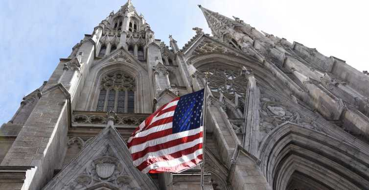 NYC: St Patrick's Cathedral Audio Tour & 5th Av Walking Tour