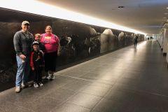 Excursão de túnel subterrâneo no centro de Houston