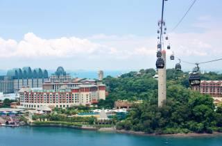 Singapur: Sentosa-Seilbahn zum Faber Peak & Mittagessen in Arbora