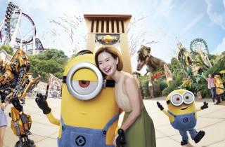 Singapur: Ticket für die Universal Studios Singapore