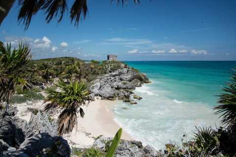 Excursión de día completo a la Riviera Maya: ruinas de Tulum, buceo y cenote