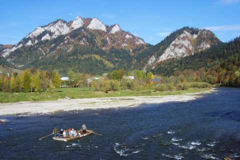 From Krakow: Dunajec River Rafting with Thermal Baths option