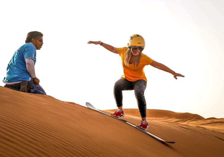 Safari na wielbłądach, czerwone wydmy i grill w Al Khayma