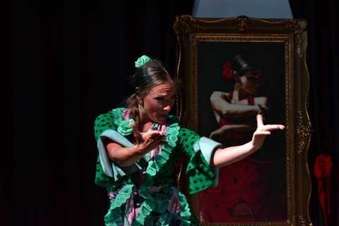Granada: Flamenco-Show in La Alboreá