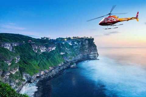 Bali: Kuta Beach to Tanah Lot Helicopter Tour