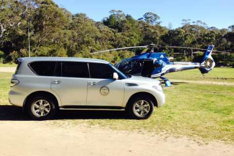 The Blue Mountains: Helicopter and 4WD Tour