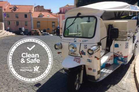 Lisbon: 1.5-Hour Private Tuk-Tuk City Tour