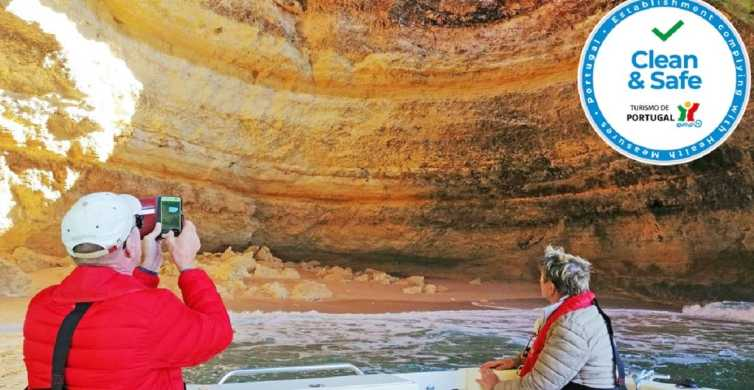 Portimão: Algarve and Benagil Cave Sightseeing Boat Tour