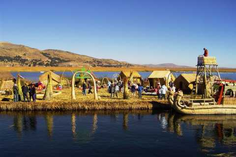 From Puno: Floating Islands of the Uros Half-Day Tour