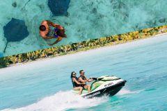 Bora Bora: Jet Ski, Almoço e Safári Tubarões e Arraias