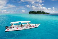 Excursão de luxo em Bora Bora e piquenique na praia