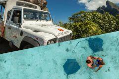 Bora Bora por terra e mar: 4WD Safari e Snorkel
