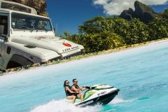 Bora Bora Adventure Day: 4X4 e Jet Ski com almoço