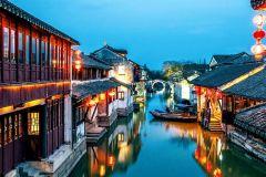 De Xangai: Excursão privada de um dia pela cidade da água de Zhouzhuang