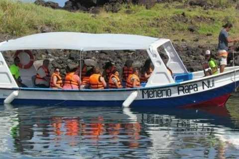 Остров Пасхи: 2-часовое путешествие на лодке со стеклянным дном
