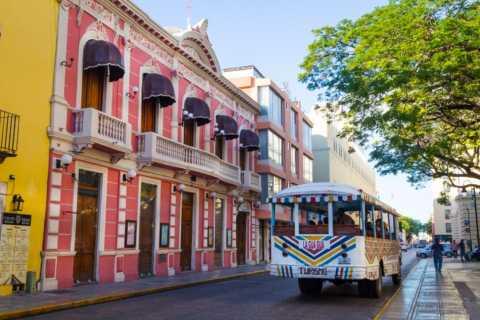 Merida: City Tour in een Gua Gua-bus