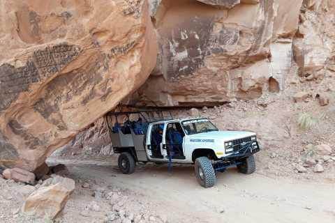 Moab: 3-timers terreng helleristningstur