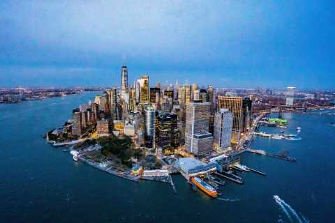 New York City: Helikopter-Tour und Flughafentransfer