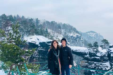 From Dresden: Bohemia and Saxon Switzerland Winter Tour