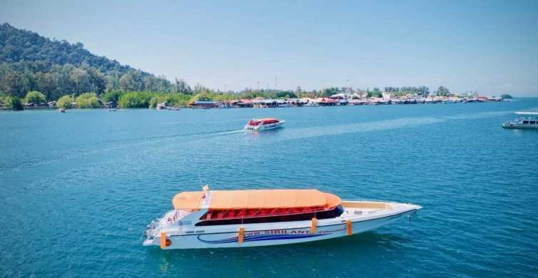 Krabi: Speed Boat Transfer To/From Koh Lipe or To Airport