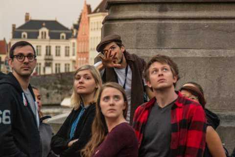 Bruges: 1.5-Hour Dark Side of Bruges Private Evening Tour