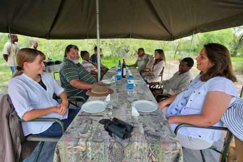 From Maun: Overnight Camping Safari to Chief's Island