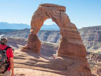 Von Salt Lake City: Private Tour durch den Arches National Park