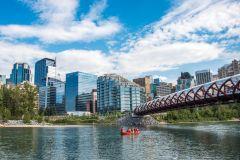 Calgary: Viagem autônoma ao Rafting em Bow River