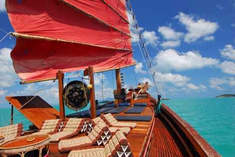 Koh Samui: Koh Phangan Island Full-Day Cruise with Sunset