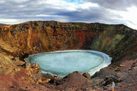 Golden Circle and Kerið Crater Small Group Tour