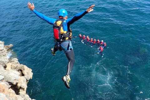 Arrábida: Speedboat Tour with Coasteering Experience