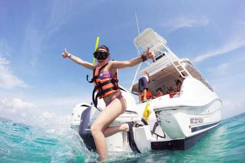 From Cancun & Riviera Maya: Isla Mujeres Private Boat Trip