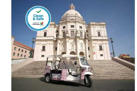 Lisbon: 1-Hour Tour by Tuk Tuk