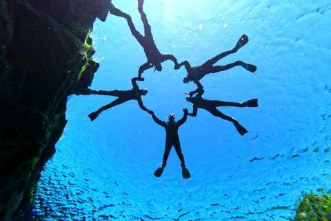 Silfra: Schnorcheln mit Unterwasserfotos (ohne Transport)