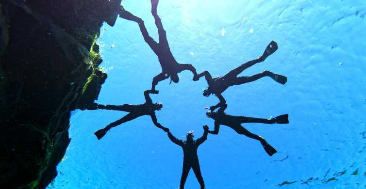 Silfra: Snorkeling with Underwater Photos Without Transport
