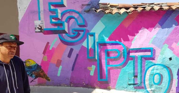 Bogotá: Egipto Graffiti Tour mit lokalem Führer