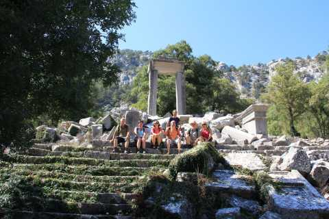 Termessos & Duden Waterfalls: 6-Hour Tour with Lunch