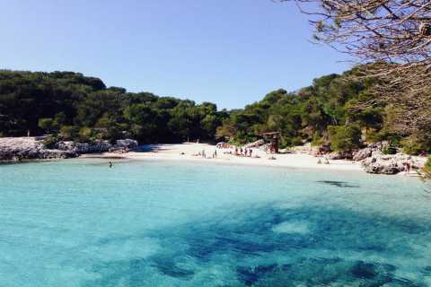 Cala Galdana: 2 horas de viaje en barco con fondo de cristal