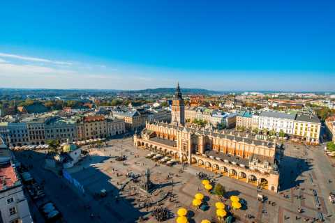 Krakow: Tour by Electric Car & Optional Schindler's Factory