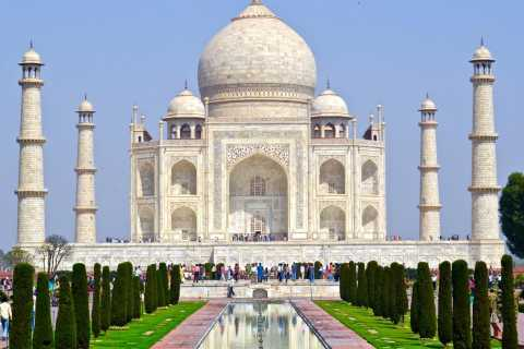 From Delhi: Day Trip to Taj Mahal, Agra Fort and Baby Taj