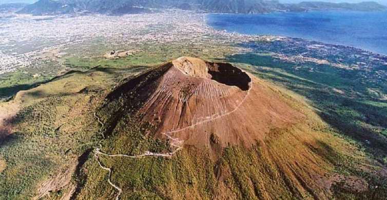 De Nápoles: excursão de meio dia ao Monte Vesúvio com tudo incluído