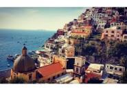Ab Neapel: Positano, Amalfi und Ravello Tour im Luxusbus