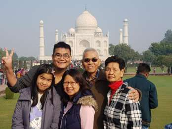 Agra: 3-stündiger privater geführter Rundgang durch das Taj Mahal