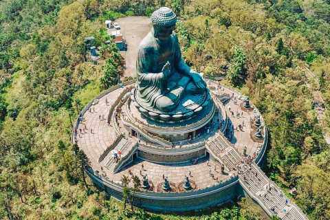 Hong Kong: Big Buddha Private Hiking Tour from Tung Chung