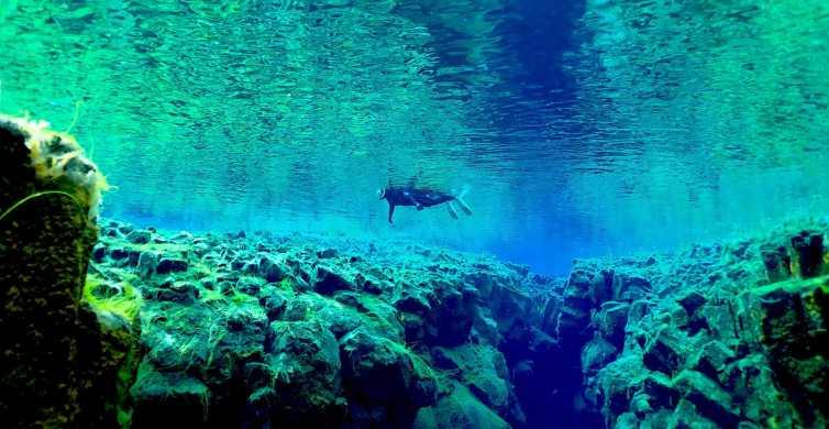Reykjavik Combo Snorkel in Silfra Fissure & Lava Caving