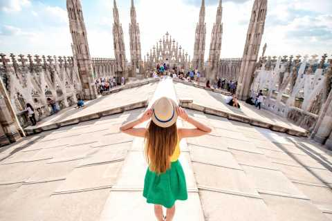 Milan: Cathedral and Rooftop Entry Ticket or Guided Tour