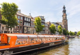 What to do in Amsterdam - Amsterdam: 1-Hour Canal Cruise with GPS Audio Guide