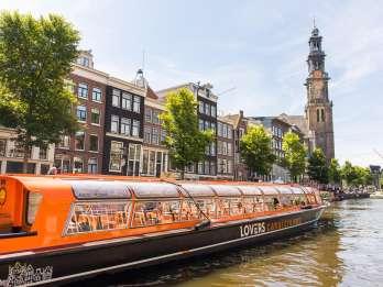 Amsterdam: Grachtenrundfahrt mit GPS-Audioguide