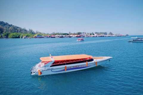 Krabi: Phuket Airport Boat & Shuttle Transfer from Railay