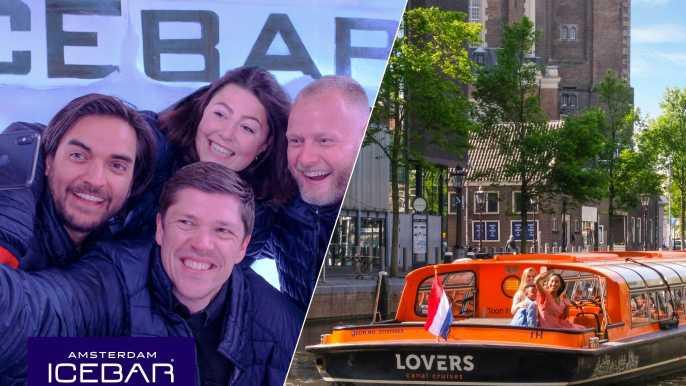 Crucero por Ámsterdam y entrada al Xtracold Icebar